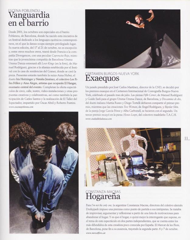 Revista Susy Q Danza